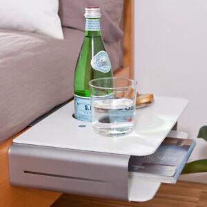 Bettablage Mini Nachttisch zum Anhängen Anklemmen Bett Butler Betttisch Tisch