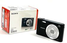 SONY DSC-W800 |  Cyber-shot 20.1 MP Digital Camera - Black