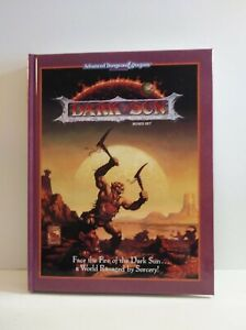 Dark Sun Boxed Set - Advanced Dungeons & Dragons AD&D REPRINT NEW HARDCOVER