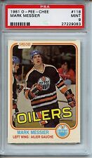 1981 O-Pee-Chee Mark Messier #118 PSA 9 Oilers