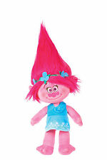 NEW OFFICIAL 40CM DREAMWORKS TROLLS SOFT TOY POPPY TROLL POPPY SOFT TOY