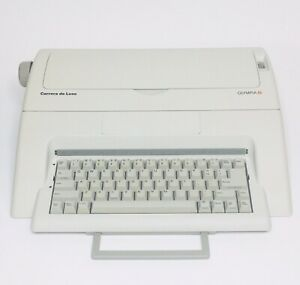 Great Working OLYMPIA CARRERA DELUXE Electronic Typewriter Good Condition!