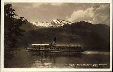 """Schiffe ~1930 Schweiz Binnenschiff Dampfer Steamer """"SCHILLER"""" Vierwaldstättersee"""