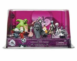 Tim Burton's The Nightmare Before Christmas Deluxe 9 Figure Play Set-New sealed