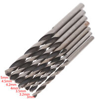 10pcs High Speed Steel HSS Straight Shank Mini Twist Drill Rotary Power Tool