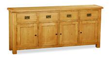 Oakvale Extra Large Sideboard / 4 Door 4 Drawer Cabinet / Cupboard