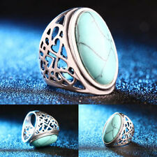 Turquoise Unbranded Retro Costume Rings