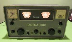 HAMMARLUND MODEL HQ-100 Vacuum Tube COMMUNICATIONS RECEIVER( pls Read )