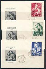 Ungeprüfte deutsche Briefmarken des Saarlandes (1947-1959) als Ersttagsbrief