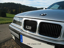 Chrom BMW E30 Kühlergrill Emblem Cabrio Touring Limousine 318is 320 325 328 M3