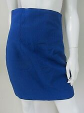 LIMITED by EVENTS sz 10/S lined embossed royal blue skirt AS NEW