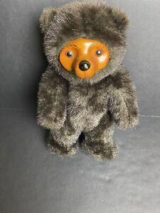 "Robert Raikes Bears Cecil 13"" Bear Wood Vintage With Tags 1985 Rare (No Box)"
