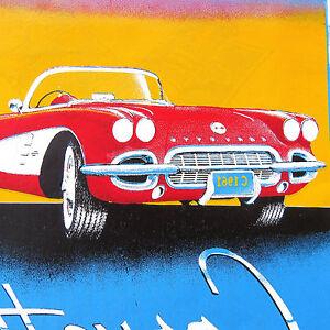 Corvette Club of America T Shirt Iron On Heat Thermal Transfer
