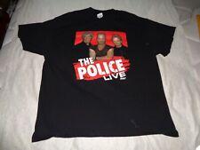 "The Police "" Live 2007 "" Tee [ Xlarge ] [ 70 ]"