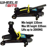 NEW WNB Heavy Duty Wnb 2 Tonne Ton Hydraulic Floor Trolley Jack Car Van In Case