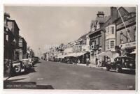 Lymington High Street Vintage RP Postcard Hampshire 129c