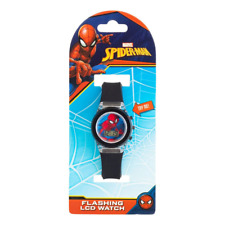 You Monkey Marvel Spiderman Flashing LCD Watch NEW
