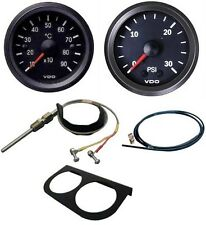 VDO Pyrometer kit with boost gauge, air line a 2 gauge panel.