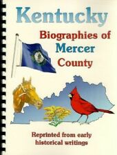 Mercer County Kentucky 1888 Biographies Genealogy History Harrodsburg KY new RP