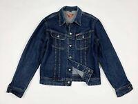 Meltin pot jeremy jacket jeans uomo usato XL giacca giubbotto denim blu T6130