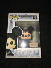 Funko pop Organization 13 Mickey Boxlunch Exclusive Kingdom Hearts + Protector