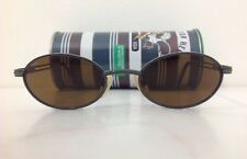 Benetton Occhiale Da Sole Junior Metallo Verde Opaco Viso Piccolo Ovale Leggero