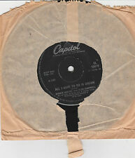"""Bobbie Gentry and Glen Campbell-All I have to do is dream 7"""" Single 1969 Capitol"""