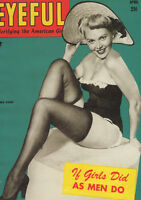 """VINTAGE PINUP GIRL EYEFUL A4 CANVAS GICLEE PRINT POSTER 1 11.3""""x8.3"""""""