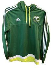 Adidas Portland Timbers Hoodie Sweatshirt Mens Large Green Soccer MLS