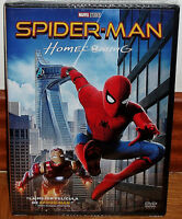 SPIDER-MAN HOMECOMING 2017 SPIDERMAN DVD NUEVO PRECINTADO ACCION (SIN ABRIR) R2