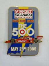 2000 Target Chip Ganassi Racing Back Home The 500 Collector Lapel Pin Indy 500