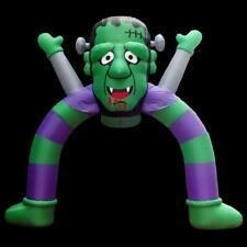Halloween 12 ft Halloween Monster with Flashing  Archway Airblown Inflatable