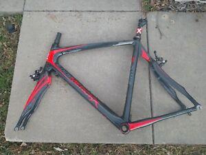 Eddy Merckx Frame tr5 Womens Trekking Frame Bicycle Frame Aluminium Frame Raw rh43cm