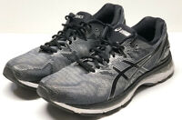 Asics Gel Nimbus 20 Black Gray White T800N Men's Shoes Size 11
