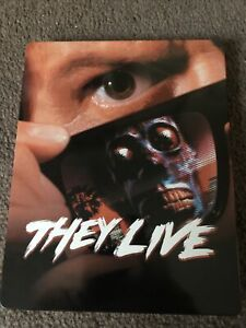 They Live - Blu Ray Steelbook - VGC