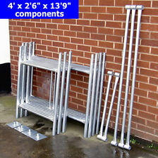 "DIY Scaffold Tower 6.0m (4 'x 2'6""x 19'9"" WH) Galvanised Steel"