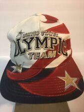Vintage Hat Cap Starter Olympic SnapBack Big Logo