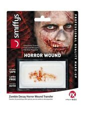 Zombie Decay Horror Wound Theatrical Make Up Halloween Prosthetic Transfer