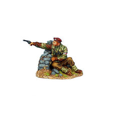 First Legion: NOR064 British Airborne Wounded Captain Firing Webley Revolver