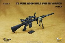 "TOYSCITY 1/6 Scale MK11 MOD0 Rifle Sniper Black Model TC-62011-B For 12""  Figure"