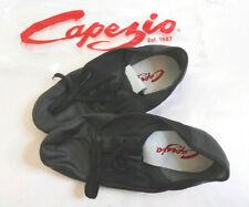 Capezio Leather Suede Split Sole Jazz Dance Shoes Size 11M Black NEW    8/17