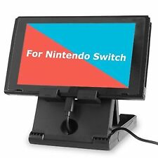 TJS Stand for Nintendo Switch Play While Charging Black
