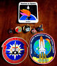 NASA Space Shuttle Pins Stickers Teacher in Space Challenger Columbia MARS ROVER