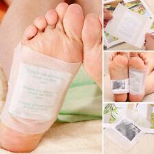 10Stk Fusspflaster Detox Foot Pads Vitalpflaster Entgiftung Entschlackung Set