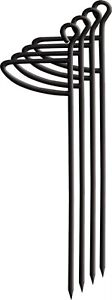 Primos Foot Press Sharp Pointed Double Bull Blind Stakes 4/Pk PS60086