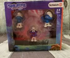 Smurfs Movie Set 1 Action 3 Figures - (Los Pitufos) - Schleich Hand-Painted New