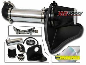 """4"""" BLACK Heat Shield Cold Air Intake For 05-08 Magnum/Charger SRT 8 5.7L/6.1L V8"""
