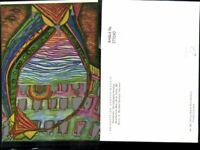 273242,Künstler AK Repro Friedereich Hundertwasser Schiffbruch Untergang Venedig