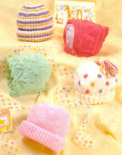 baby hats dk knitting pattern 99p