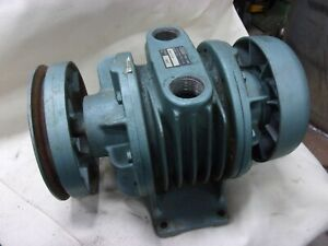 "Gast 3040-V149 Rotary Vane Vacuum Compressor Pump 1"" Npt Ports Machine Suction"